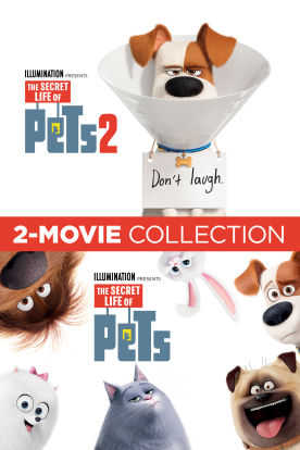 The Secret Life of Pets 2-Pack