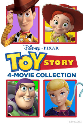 Toy Story 1-4 Collection