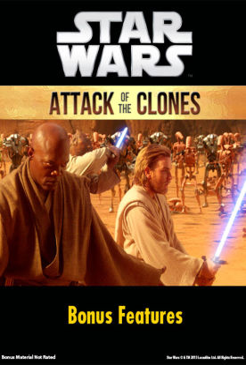 Star Wars: Attack Of The Clones Bonus Features