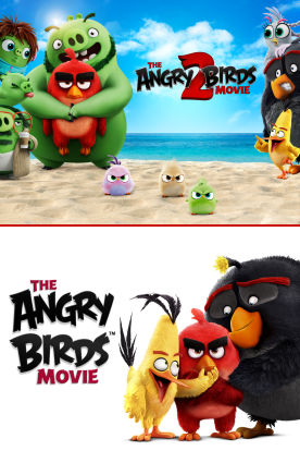 The Angry Birds 2-Movie Collection