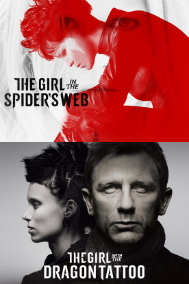 The Girl in the Spider's Web / The Girl With the Dragon Tattoo Double Feature