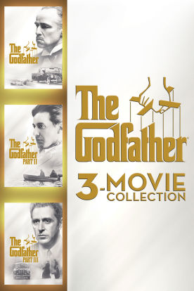 The Godfather 3-Movie Collection HD