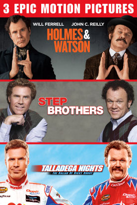 Holmes & Watson / Step Brothers / Talladega Nights Bundle