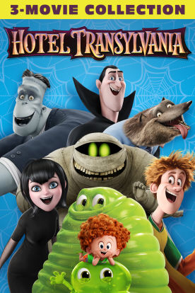 Hotel Transylvania 3-Movie Collection