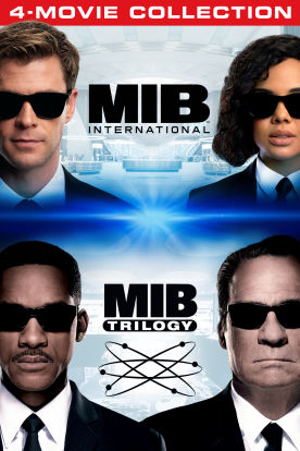 Men In Black 4 - Movie Collection