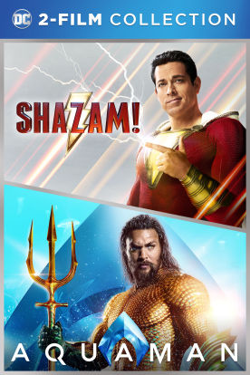 Shazam/ Aquaman 2-Film Collection