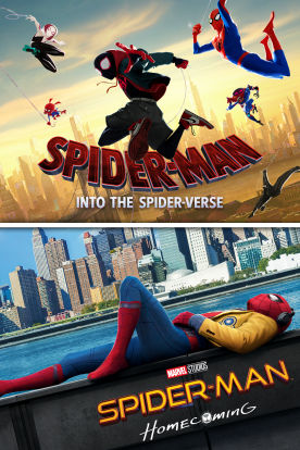Spider-Man: Into the Spider-Verse / Spider-Man: Homecoming