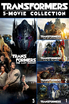 Transformers 5-Movie Collection