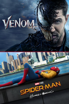Venom / Spider-Man: Homecoming Double Feature