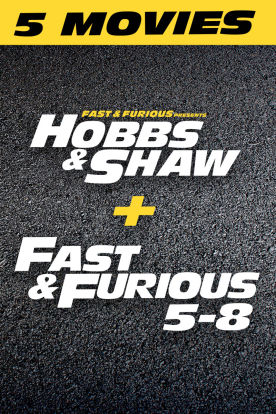 Hobbs & Shaw 5-Movie Bundle