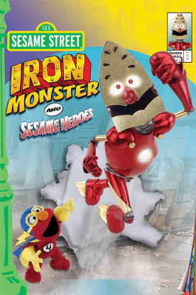 Sesame Street: Elmo and Friends - Iron Monster and Other Super Stories