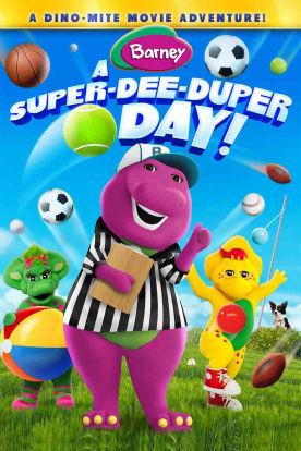 Barney: A Super Dee-Duper Day!