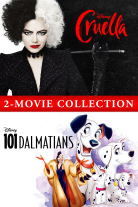Cruella & One Hundred and One Dalmatians – 2 Movie Collection