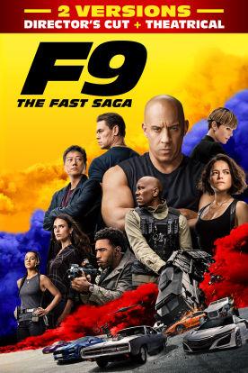 F9 The Fast Saga (Director's Cut + Theatrical) Bundle