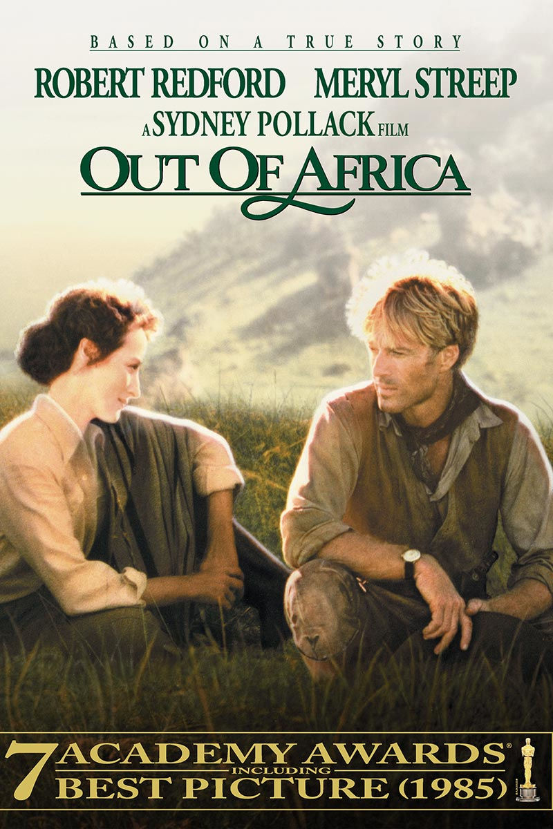 Out of Africa, click to find out more